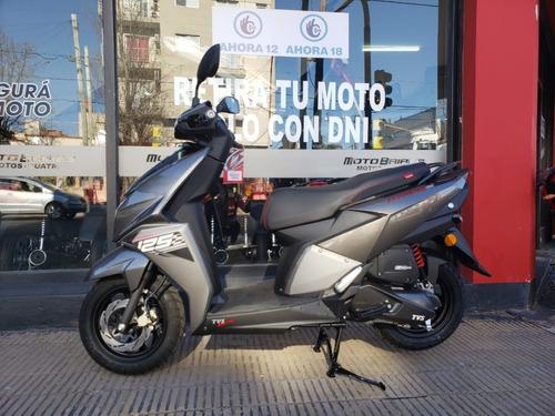 scooter tvs ntorq 125 0km bluetooth en cuotas moto baires