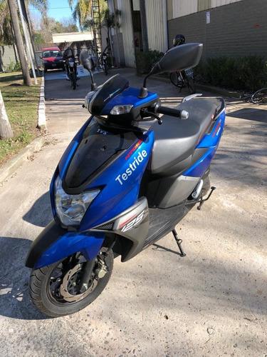 scooter tvs ntorq 125 cc  fcia c/tarj 12/18 cuotas usado