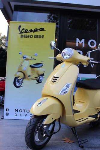 scooter vespa vxl 150 amarilla 0km financión  motoplex