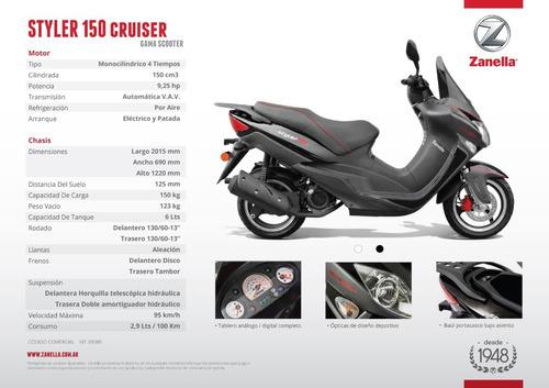 scooter zanella cruiser 150 rt