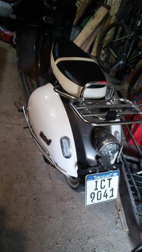 scooter zanella mod 125 - año 2018 - solo 85 kmts. - dueña