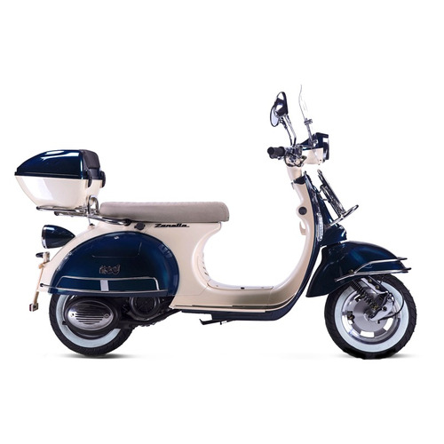scooter zanella mod 150 tipo vintage 0km 2018 alarma baul