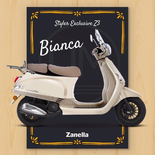 scooter zanella styler 150 motos