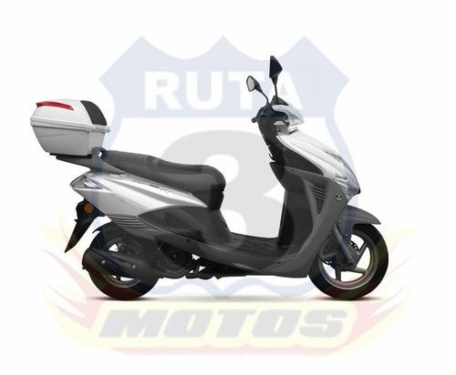 scooter zanella styler 150 rt con baul service gratis