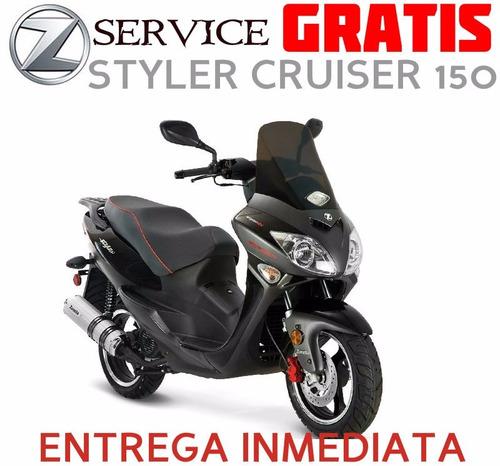 scooter zanella styler cruiser 150 0km 2017