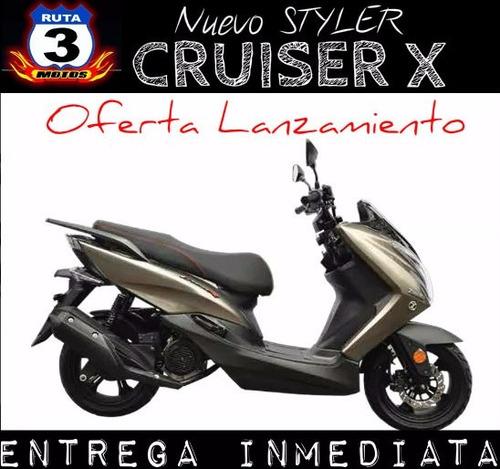 scooter zanella styler cruiser x 150 0km