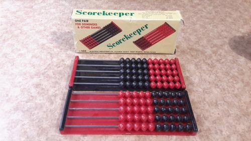 scorekeeper p domino (contador d resultados) vintage c2709