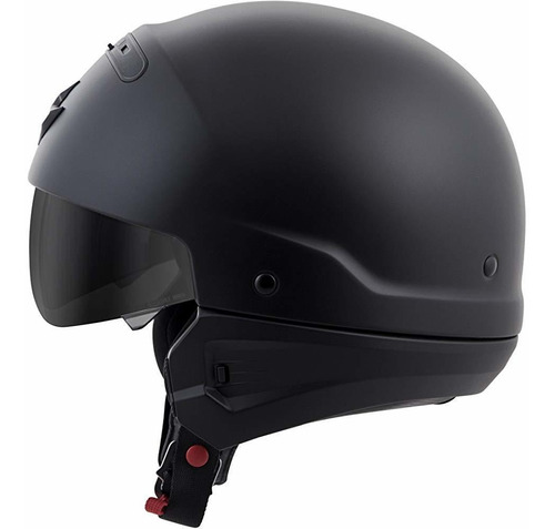 scorpion exo covert solid casco mate negro (negro, xxx large