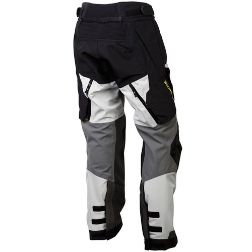 scorpion yukon mens motocicleta textiles pantalones gris cla