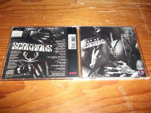 scorpions - best of cd importado ed 1990 mdisk