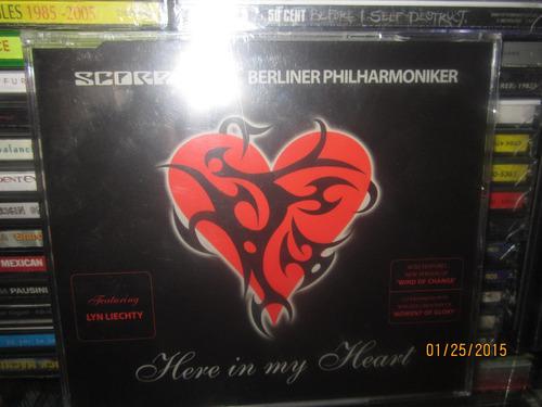 scorpions here in my heart - single - 3 track nuevo