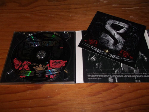 scorpions  sting in the tail cd + dvd nacional ed 2010 mdisk