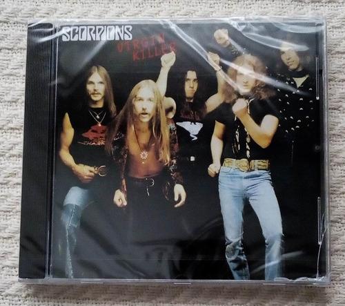 scorpions - virgin killer ( c d ed. europea)