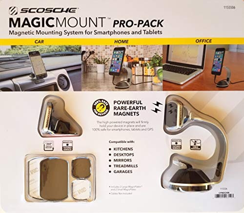 scosche magicmount propack sistema de montaje magnetico univ
