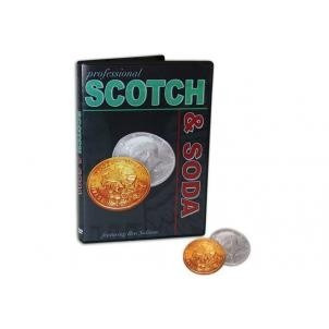 scotch and soda. monedas trucadas. magia . dvd gratis