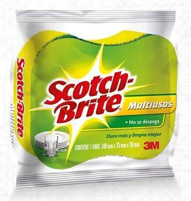 scotch brite® esponja 2 en 1, display x 7 unidades , 3m®