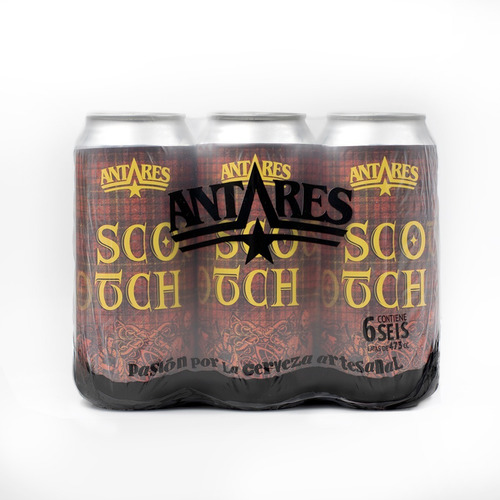 scotch cerveza artesanal antares lata 473ml x 6