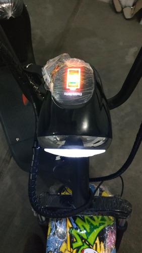 scoter electrico  bicimoto harley citycoco bateria extraible