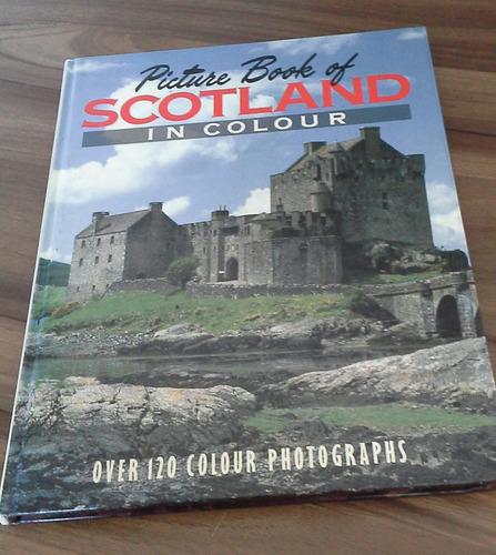 scotland picture book livro raro