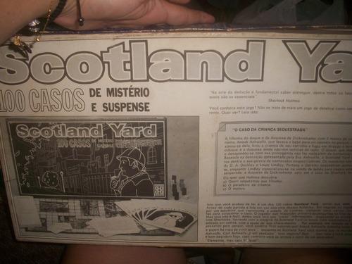 scotland yard antigo grow completissimo com manual