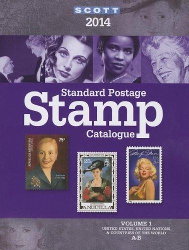 Scott Standard Postage Stamp Catalog 2014: Estados Unidos Y