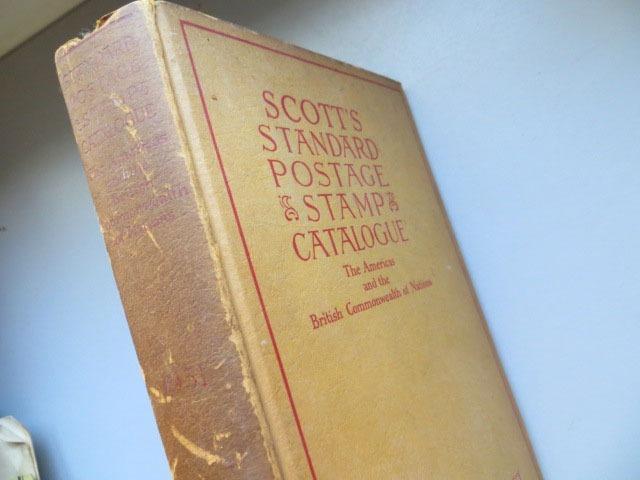 Scott´s Standard Postage Stamp Catalogue 1951 Catalogo Scott - $ 120,75