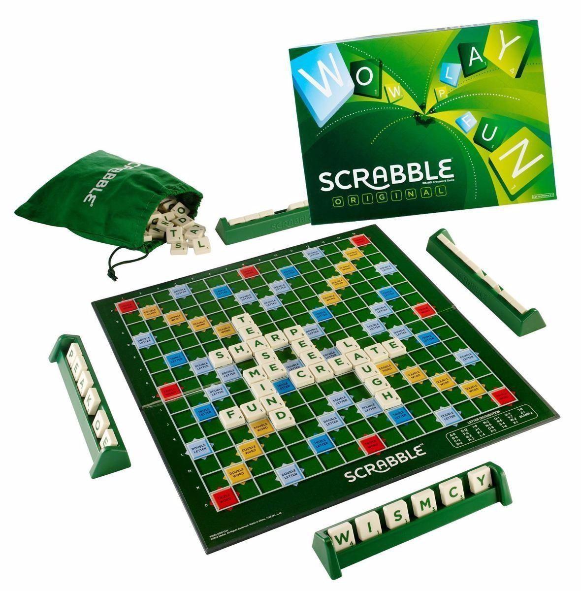 Scrabble Espanol Original Nuevo Sellado Mattel Juego De Mesa Bs