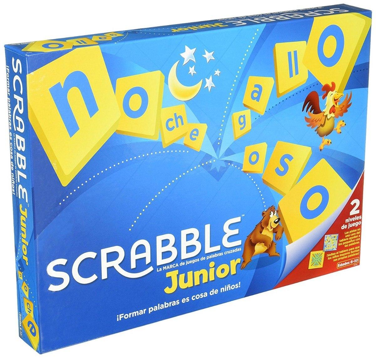 Scrabble Junior Juego De Mesa Educativo 350 00 En Mercado Libre
