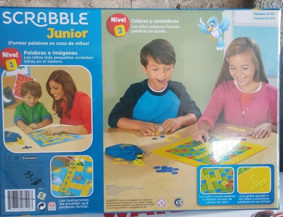 Scrabble Junior Juego De Mesa Para Ninos Envio Gratis Barato