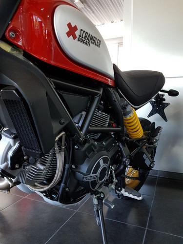scrambler desert sled 800cc roja 2018 0km ducati rosario