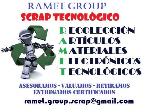 scrap tecnológico, gratis recolección artículos electrónicos