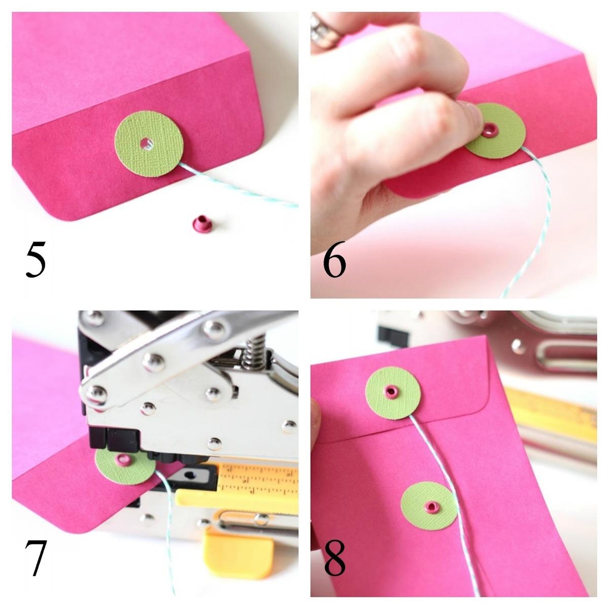 How to scrapbook eyelets - Scrapbook Estuche Kit Perforadora Crop A Dile Eyelet Ojillos