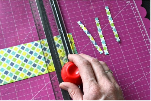 scrapbook guillotina 8 cortes papel magnetic twist trimmer