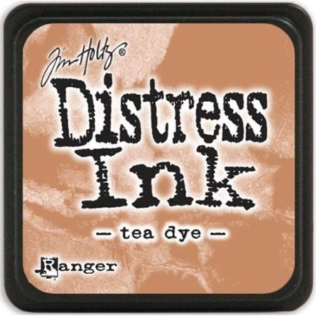 scrapbook tintas tim hotlz distress tea dye envejecer
