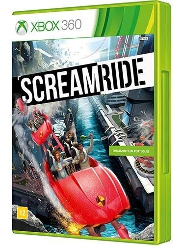 scream ride - xbox 360