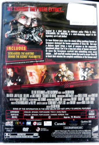 screamers. dvd.