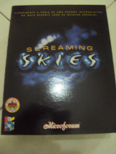 screaming skies - jogo para pc - raro