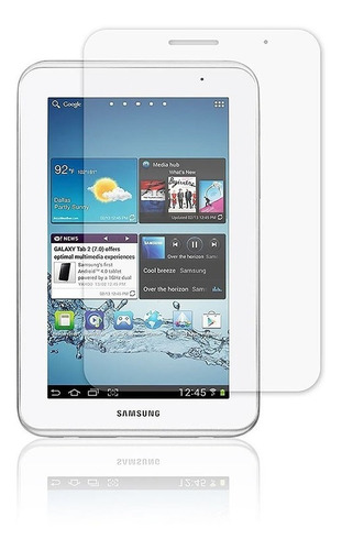 screen protector de pantalla  samsung tab 2 de 7 p3100 3110