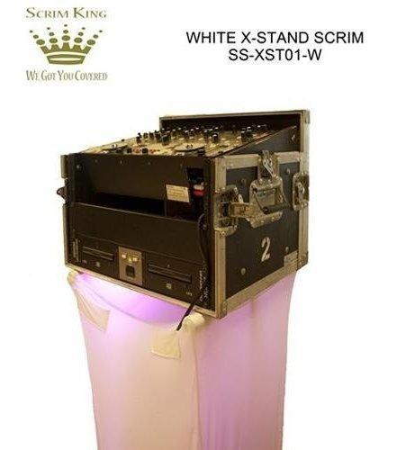 scrim king x stand scrim, blanco