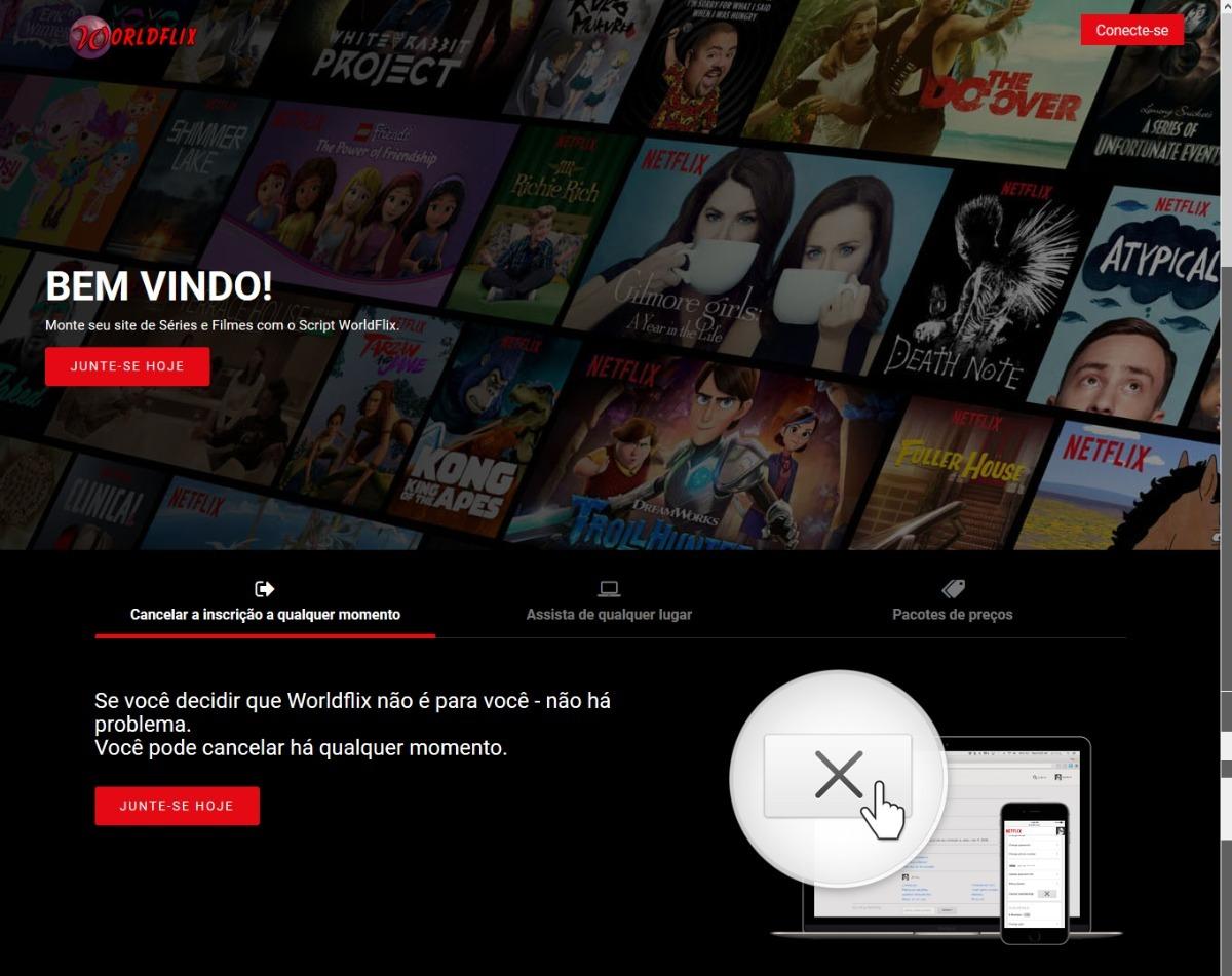 Script Clone Do Netflix Em Português 2018 O Melhor Do Site