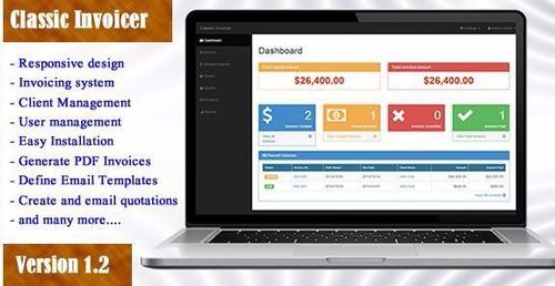 script de faturas online profissional automático