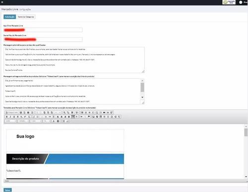 script entrega automática produtos digitais mercadolivre