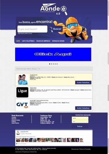 script guia comercial 2014/2015 v6 php facebook / banner
