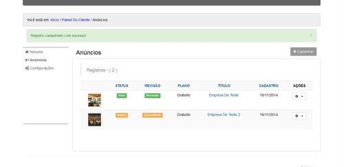 script guia comercial php, 100% responsivo com atualizações