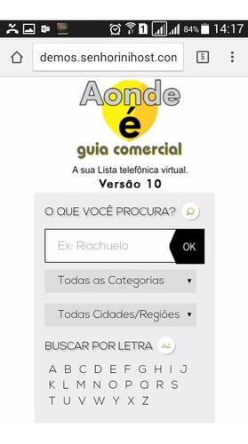 script guia comercial v10 - 2016 responsivo mobile em php