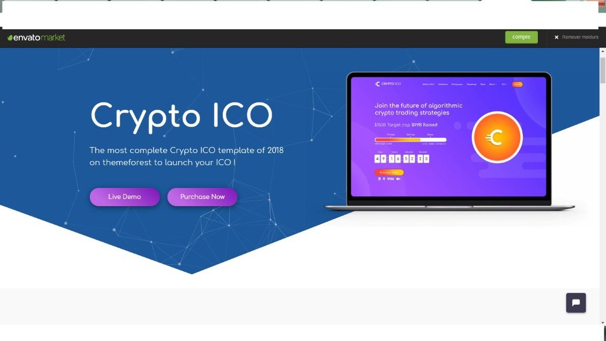 Script Ico Completo+página Web+tokem-erc20+app Android