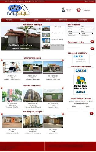script imobiliaria 2012 php mysql, sem bugs com google maps