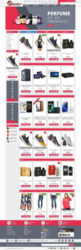 script loja virtual responsiva profissional ecommerce