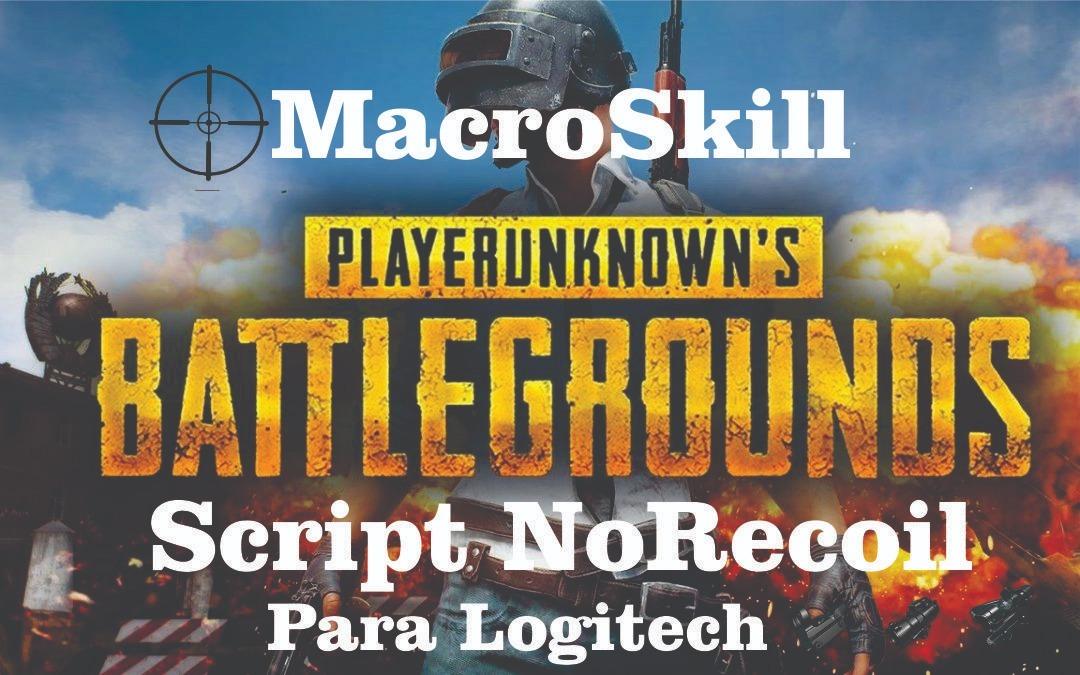 Script Macro Pubg Steam E Lite - Apenas Mouse Logitech