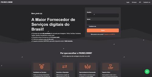 script painel smm brasileiro atualizado moderno para revenda